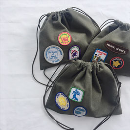 Drawstring Bag w/Patch