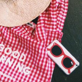 SUNGLASS iphone case Clear