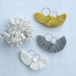 ignuts Fringe Earrings 14Kgf