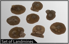 Set of Landmines