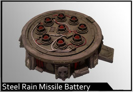 Steel Rain Pattern Missile Battery
