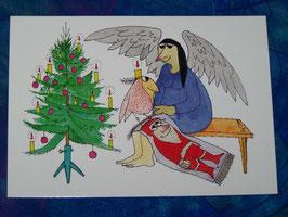 Postkarte Nikolausteppich
