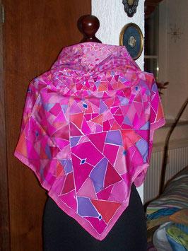 Geometrie in Rosa und Pink