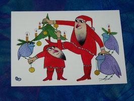 Postkarte Akrobatik