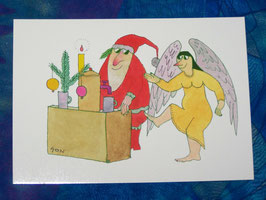 Postkarte Glühwein gefällig?