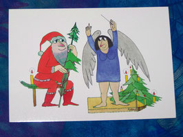 Postkarte Weihnachtskonzert