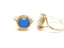"""Ring """"Faraglioni"""" hellblau"""