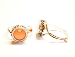 """Ring """"Faraglioni"""" rosa"""