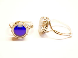 """Ring """"Faraglioni"""" blau"""