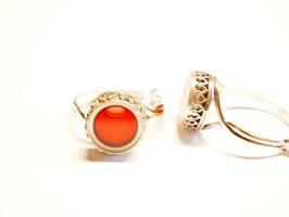 """Ring """"Faraglioni"""" rot"""