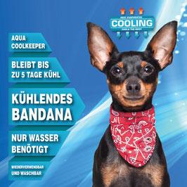 AQUA COOLKEEPER™ COOLING PET BANDANA - Kühlbandana