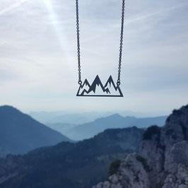 Bergkette aus Silber (groß)