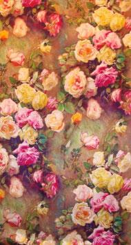 """Luxuriöser Seidenschal """"Roses"""""""