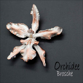 *Orchidee - Brosche