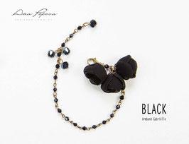 :Black -  Armband Gabrielle