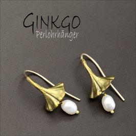 *Ginkgo-Perlohrhänger