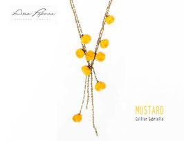:Mustard    Collier Gabrielle