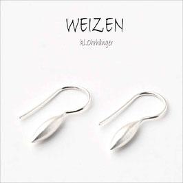.Weizen - kleiner Ohrhänger