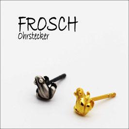 Fröschchen-Ohrstecker