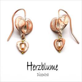 *Herzblume-Ohrhänger