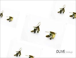 *Oliven-Ohrschmuck