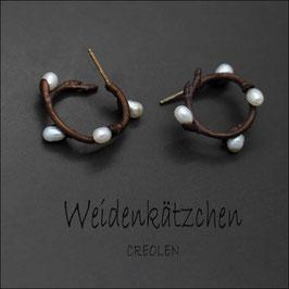 *Weidenkätzchen - Creolen