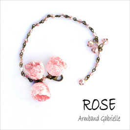 Rose -  Armband Gabrielle