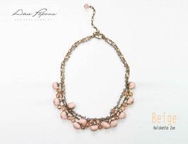 :Beige - Halskette Zoe