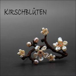 *Kirschblüten - Brosche