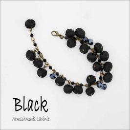 :Black -  Armband Lavinie
