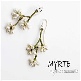 *Myrte-Ohrschmuck