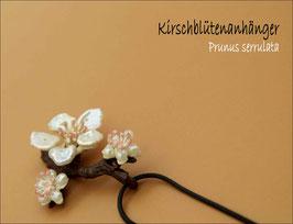 *Kirschblüten-Anhänger mit Kette