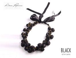 :Black - Collier Brigitte