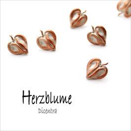 *Herzblume-Ohrstecker