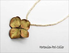 *Hortensien-Perl-Collier