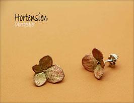 *Hortensien-Ohrstecker