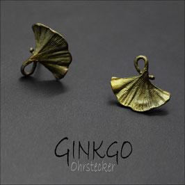 *Ginkgo-Ohrstecker