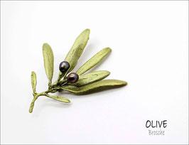 *Oliven-Brosche