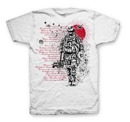 Rot Scheint Die Sonne T-Shirt