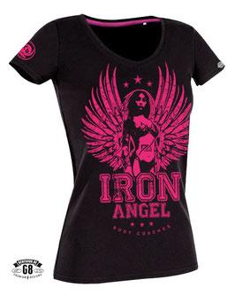 """Iron Angel"" V-Neck-Shirt"