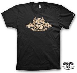 R E D U Z I E R T !!! KFOR T-Shirt schwarz