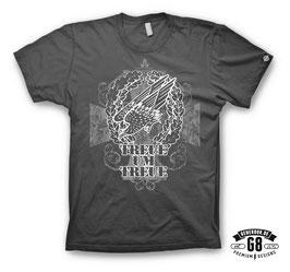 Treue um Treue T-Shirt, dark-grey