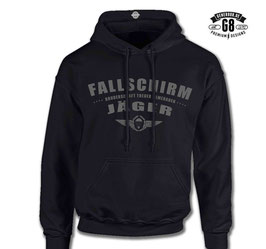 FschJg.-Hoody CoolGray-Skull
