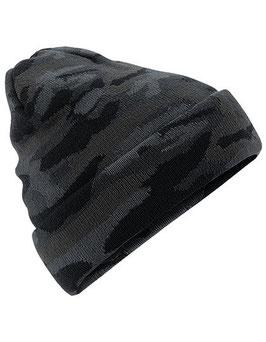 Camouflage Strickmütze