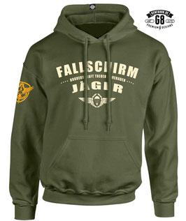 FALLSCHIRMJÄGER-Hoody... army-green