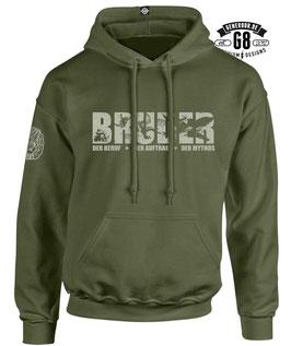 BRUDER-Hoody... army-green