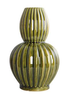 Wave Vase Olive