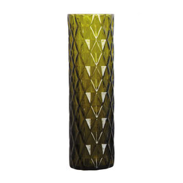 Cut Vase Olive