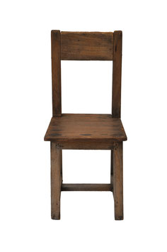 Childrens Wooden Chair 1