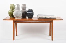 Wave Vase Grey-Brown